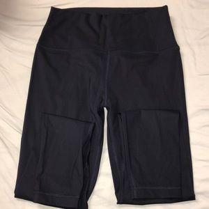 Navy CRZ yoga leggings